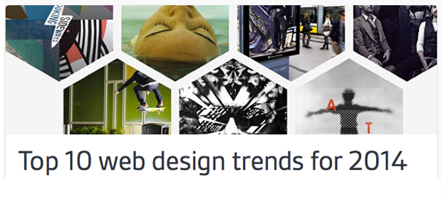 2014 Web Design Trends